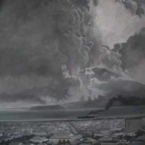 michel détré Eruption du SAKURAJIMA